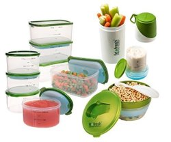 Fit & Fresh Perfect Portion Meal Prep Kit for $20 + $5 s&h