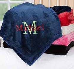 All About Me Personalized Fleece Blanket for $24