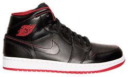 Nike Men's Air Jordan Retro 1 Mid Shoes for $56