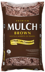Premium 2-Cubic Foot Hardwood Mulch for $2