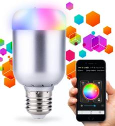 Lixada 6W E27 Smart Bluetooth LED Light Bulb $11