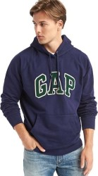 Gap Men's Textured Logo Pullover Hoodie for $36 + free shipping