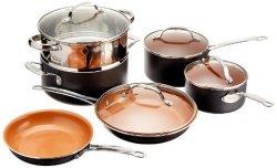 Gotham Steel 10-Piece Cookware Set