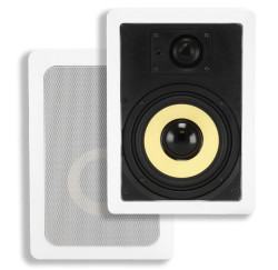"Monoprice Caliber In-Wall 6.5"" 2-Way Speakers for $30 + $14 s&h"