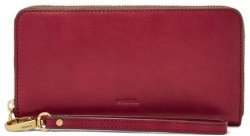 Fossil Women's Emma RFID Large Zip Clutch for $59
