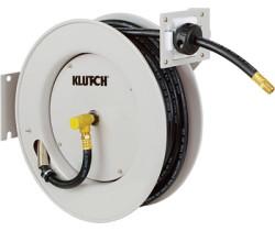 Klutch Auto Rewind Air Hose Reel w/ 50ft Hose $70