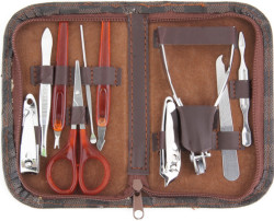10-Piece Manicure Set for $4 + free shipping