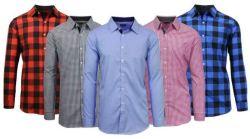 Men's Slim Fit Woven Shirt for $9
