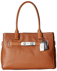 Coach Color Block New Swagger Handbag for $140