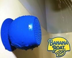 Banana Boat Waterproof Bluetooth Speaker for $10