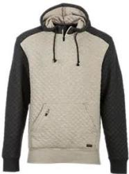 Ascend Men's Quilted Jersey Hoodie