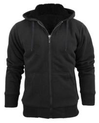 Stanzino Men\u0026#39;s Sherpa Lined Hoodie for $12 + free shipping