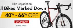 Nashbar Bike Liquidation Sale: 40% to 66% off