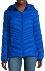 Xersion Women's Packable Puffer Jacket for $15