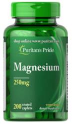 3 Puritan's Pride Magnesium 200ct.Bottles for $16