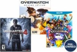Used Video Games at Best Buy: Buy 2, get 3rd free
