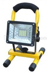 Portable Waterproof 24-LED Flood Light for $17