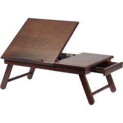 Alden Lap Desk/Bed Tray with Drawer for $19
