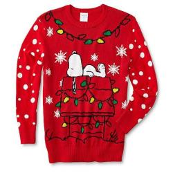 Snoopy Men's Christmas Sweater, $10 Kmart GC $15