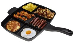 "MasterPan 15"" 5 Section Meal Skillet"