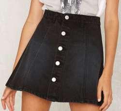 RES Denim Women's Little Games Denim Skirt $59