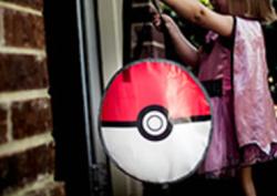 Pokemon Pokeball Reflective Bag for $4