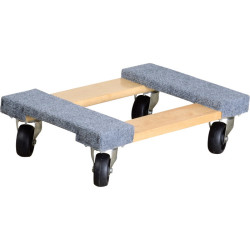 Ironton 1,000-lb. Carpeted Mover's Dolly for $10