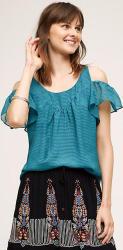 Maeve Women's Tavin Open-Shoulder Blouse for $35