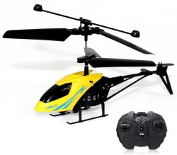2.5-Channel RC Mini Helicopter for $5