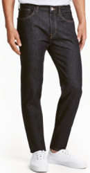 H&M Men's Straight Regular Jeans for $10