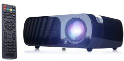 iRulu LCD Home Theater Projector for $120