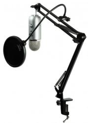 Blue Yeti Microphone w/ Scissors Arm, Filter $110
