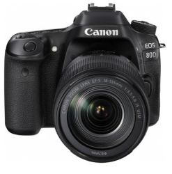 Canon EOS 80D DSLR Camera & Lens Bundle $1,049
