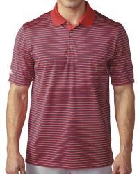 adidas Golf Men's 3-Color Stripe Polo Shirt $17