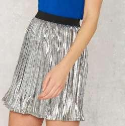 Nasty Gal Women's Foiling Point Skirt for $23