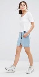 Good Vibes Bad Daze Women's Denim Skirt