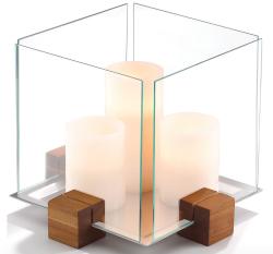 "Dansk 9"" Design with Light Cubic Candlescape $36"