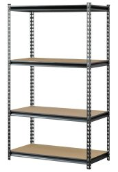 Muscle Rack 4-Shelf Steel Storage Rack from $34