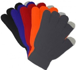 5 Pairs of Refael Touchscreen Texting Gloves $9