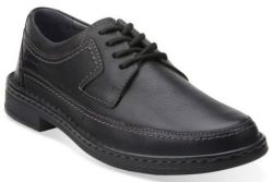 Clarks Men's Kyros Edge Leather Shoes for $42