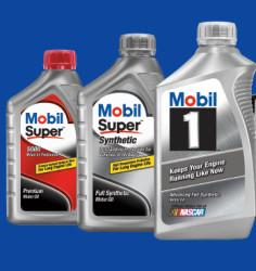 Mobil 5-Quart Motor Oil at Walmart: from $13