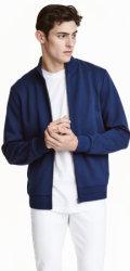 H&M Men's Scuba-Look Jacket for $13