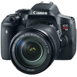 Refurb Canon EOS Rebel T6i DSLR Bundle $649