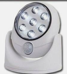 Wireless Motion Sensor 7-LED Safety Light for $8