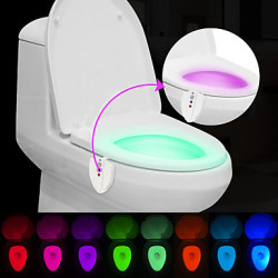 Brelong Motion-Activated Toilet Light for $5