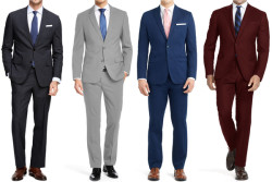 Braveman Men's Classic Fit 2-Piece Suit for $38