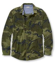 L.L.Bean Men's Bradbury Camouflage Shirt $20