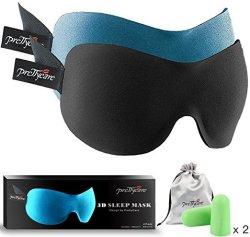 PrettyCare 3D Sleep Mask Kit for $8