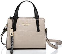 Kate Spade Grey Street Mini Dominique Handbag $79