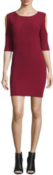 Rebecca Minkoff Women's Josefina Ribbed Dress $69